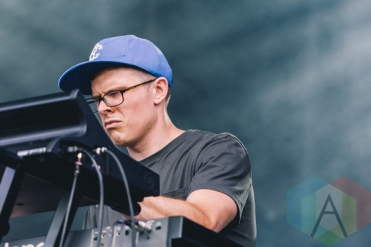 Kevin Garrett performing at Wayhome Festival on July 25, 2015. (Photo: Rick Clifford/Aesthetic Magazine)