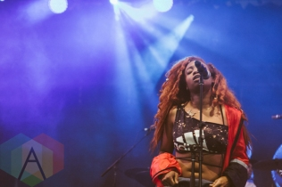 SZA performing at Wayhome Festival on July 25, 2015. (Photo: Rick Clifford/Aesthetic Magazine)