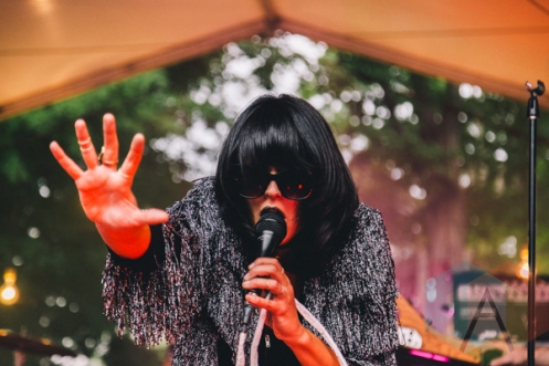 Dear Rouge performing at Wayhome Festival on July 25, 2015. (Photo: Rick Clifford/Aesthetic Magazine)
