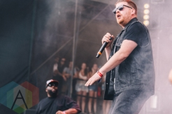 Run The Jewels performing at Wayhome Festival on July 25, 2015. (Photo: Rick Clifford/Aesthetic Magazine)