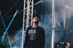 Danny Brown performing at Wayhome Festival on July 25, 2015. (Photo: Rick Clifford/Aesthetic Magazine)