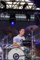 BadBadNotGood performing at Nathan Philips Square in Toronto, ON on July 12th, 2015 as part of Panamania 2015. (Photo: Fernando Paiz/Aesthetic Magazine)