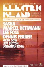 Preview: Electric Island Returns to Toronto on Canada Day
