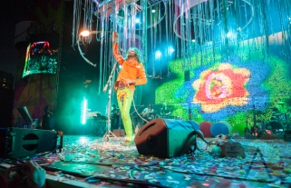 The Flaming Lips performing at Nathan Philips Square in Toronto, ON on July 19th, 2015 as part of Panamania 2015. (Photo: Jason Hodgins/Aesthetic Magazine)