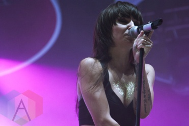 Lights performing at CIBC Pan Am Park in Toronto, ON on July 20, 2015 as part of Panamania 2015. (Photo: Alyssa Balistreri/Aesthetic Magazine)