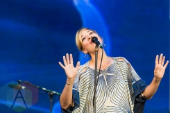 Jill Barber performing at Nathan Philips Square in Toronto, ON on July 12th, 2015 as part of Panamania 2015. (Photo: Fernando Paiz/Aesthetic Magazine)