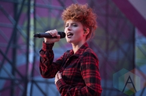 Kiesza performing at Nathan Philips Square in Toronto, ON on July 19th, 2015 as part of Panamania 2015. (Photo: Jason Hodgins/Aesthetic Magazine)