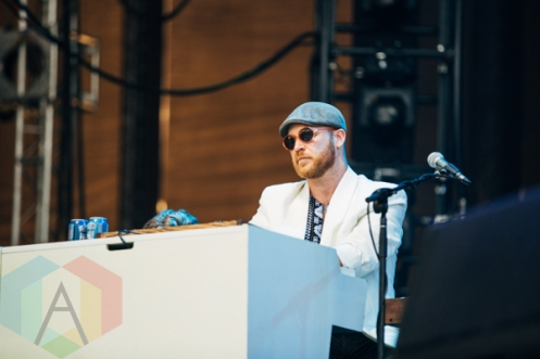 Gay Nineties performing at the Pemberton Music Festival on July 16, 2015. (Photo: Steven Shepherd/Aesthetic Magazine)