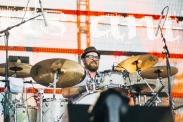 Beats Antique performing at the Pemberton Music Festival on July 16, 2015. (Photo: Steven Shepherd/Aesthetic Magazine)