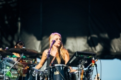 Givers performing at the Pemberton Music Festival on July 16, 2015. (Photo: Steven Shepherd/Aesthetic Magazine)