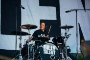 Billy Talent performing at the Pemberton Music Festival on July 16, 2015. (Photo: Steven Shepherd/Aesthetic Magazine)