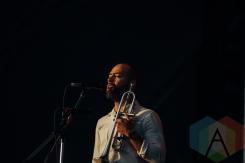 Beirut performing at the Pemberton Music Festival on July 16, 2015. (Photo: Steven Shepherd/Aesthetic Magazine)