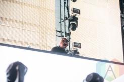 Flux Pavilion performing at the Pemberton Music Festival on July 16, 2015. (Photo: Steven Shepherd/Aesthetic Magazine)