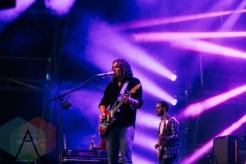The War On Drugs performing at the Pemberton Music Festival on July 16, 2015. (Photo: Steven Shepherd/Aesthetic Magazine)