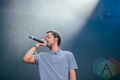 Earl Sweatshirt performing at the Pemberton Music Festival on July 18, 2015. (Photo: Steven Shepherd/Aesthetic Magazine)