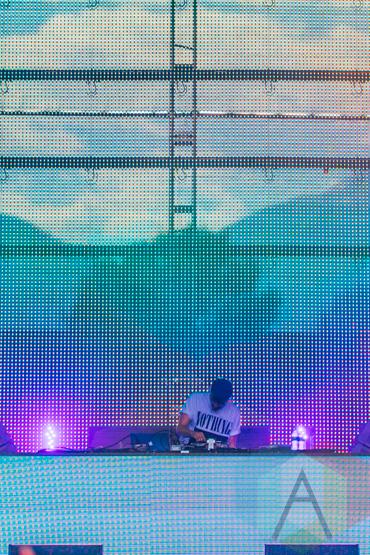 Ryan Hemsworth performing at the Pemberton Music Festival on July 18, 2015. (Photo: Steven Shepherd/Aesthetic Magazine)