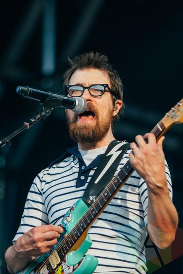 Weezer performing at the Pemberton Music Festival on July 18, 2015. (Photo: Steven Shepherd/Aesthetic Magazine)