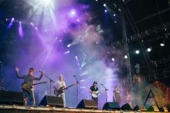Broken Social Scene performing at the Pemberton Music Festival on July 18, 2015. (Photo: Steven Shepherd/Aesthetic Magazine)
