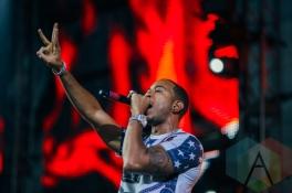 Ludacris performing at the Pemberton Music Festival on July 18, 2015. (Photo: Steven Shepherd/Aesthetic Magazine)
