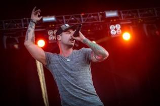 Dallas Smith performing at Ottawa Bluesfest on July 16, 2015. (Photo: Mark Horton)