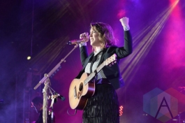 Serena Ryder performing at Nathan Philips Square in Toronto, ON on July 11th, 2015 as part of Panamania 2015. (Photo: Justin Roth/Aesthetic Magazine)