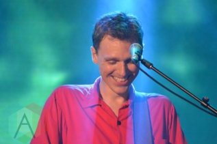 Joel Plaskett performing at Nathan Philips Square in Toronto, ON on July 14th, 2015 as part of Panamania 2015. (Photo: Justin Roth/Aesthetic Magazine)
