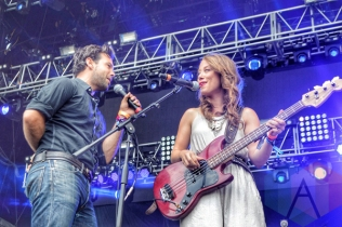 The Lone Bellow performing at Wayhome Festival on July 25, 2015. (Photo: Justin Roth/Aesthetic Magazine)
