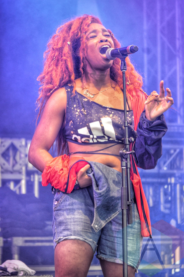 SZA performing at Wayhome Festival on July 25, 2015. (Photo: Justin Roth/Aesthetic Magazine)