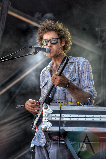 Chad VanGaalen performing at Wayhome Festival on July 26, 2015. (Photo: Justin Roth/Aesthetic Magazine)
