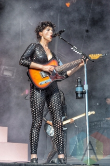 St. Vincent performing at Wayhome Festival on July 26, 2015. (Photo: Justin Roth/Aesthetic Magazine)