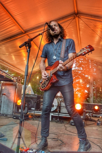 Yukon Blonde performing at Wayhome Festival on July 26, 2015. (Photo: Justin Roth/Aesthetic Magazine)