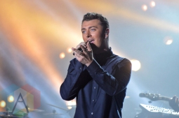 Sam Smith performing at Wayhome Festival on July 26, 2015. (Photo: Justin Roth/Aesthetic Magazine)