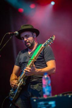 Hawksley Workman performing at Ottawa Bluesfest on July 10, 2015. (Photo: Scott Penner)