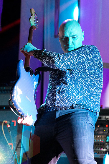 Smashing Pumpkins performing at the Concord Pavilion in Concord, CA on July 7, 2015. (Photo: Raymond Ahner/Aesthetic Magazine)