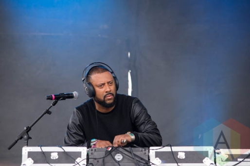 Madlib and Freddie Gibbs performing at the Pitchfork Music Festival on July 19, 2015. (Photo: Katie Kuropas/Aesthetic Magazine)