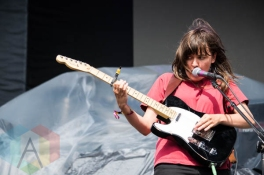 Courtney Barnett performing at the Pitchfork Music Festival on July 19, 2015. (Photo: Katie Kuropas/Aesthetic Magazine)