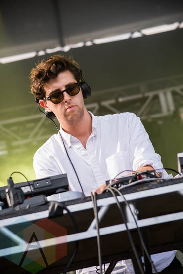 Jamie XX performing at the Pitchfork Music Festival on July 19, 2015. (Photo: Katie Kuropas/Aesthetic Magazine)