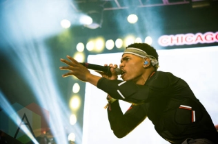 Chance The Rapper performing at the Pitchfork Music Festival on July 19, 2015. (Photo: Katie Kuropas/Aesthetic Magazine)