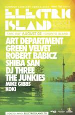 Preview: Electric Island Returns to Toronto with Art Department, Green Velvet, and More!