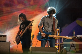 Explosions In The Sky performing at Panamania 2015 in Toronto, ON on Aug. 10, 2015. (Photo: Jason Hodgins/Aesthetic Magazine)