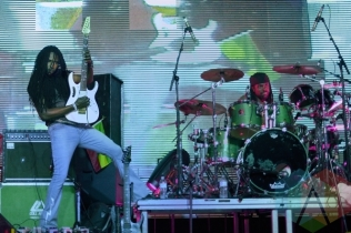 Beres Hammond performing at Toronto Reggae Fest in Toronto, ON, on August 16, 2015. (Photo: Steve Danyleyko/Aesthetic Magazine)