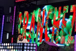 Branchez performing at VELD Music Festival 2015. (Photo: Theo Rallis/Aesthetic Magazine)