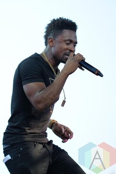 Christopher Martin performing at Toronto Reggae Fest in Toronto, ON, on August 16, 2015. (Photo: Steve Danyleyko/Aesthetic Magazine)