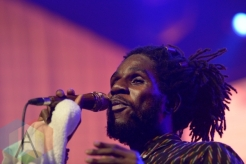 Chronixx performing at Sound Academy in Toronto, ON, on August 21, 2015. (Photo: Steve Danyleyko/Aesthetic Magazine)