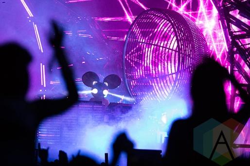 Deadmau5 performing at VELD Music Festival 2015. (Photo: Theo Rallis/Aesthetic Magazine)