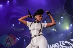 Janelle Monae performing at Panamania 2015 in Toronto, ON on Aug. 9, 2015. (Photo: Victoria Charko/Aesthetic Magazine)