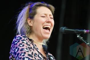 Martha Wainwright performing at the Greenbelt Harvest Picnic in Hamilton, ON on Aug. 29, 2015. (Photo: Orest Dorosh/Aesthetic Magazine)