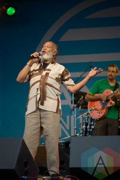 Ernie Smith performing at Jambana in Markham, ON, on August 3, 2015. (Photo: Steve Danyleyko/Aesthetic Magazine)