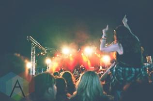 Coasts performing at Leeds Festival 2015 on Aug. 28, 2015. (Photo: Priti Shikotra/Aesthetic Magazine)