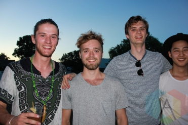 The Attic Kids at the Wolfe Island Music Festival. (Photo: Curtis Sindrey/Aesthetic Magazine)